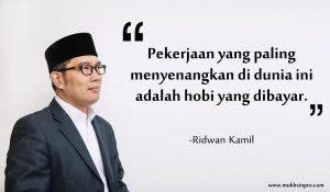 quote dari Ridwan Kamil