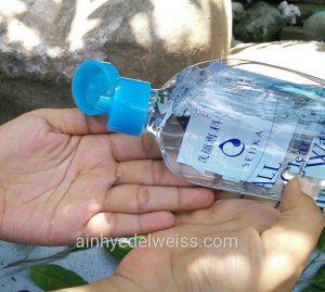 Tekstur Senka All Clear Water