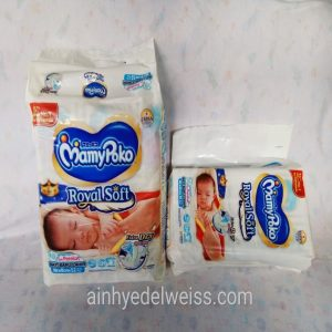 Kemasan MamyPoko Royal Soft