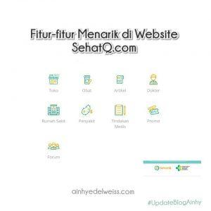 Fitur Website SehatQ.com