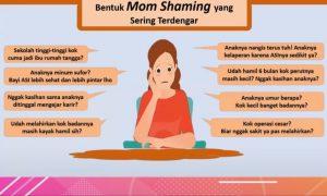Dampak Negatif Mom Shaming dan cara menghentikannya