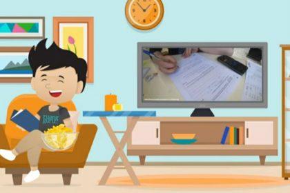 Tips belajar seru di rumah