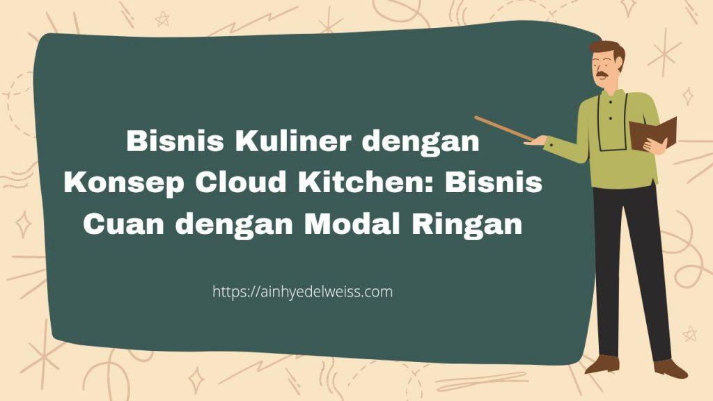 Konsep Cloud Kitchen
