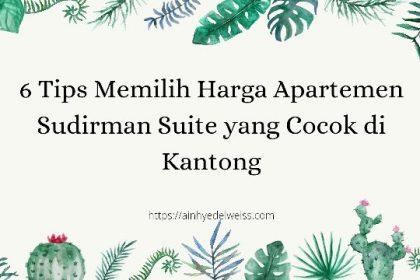 Harga apartemen Sudirman Suite