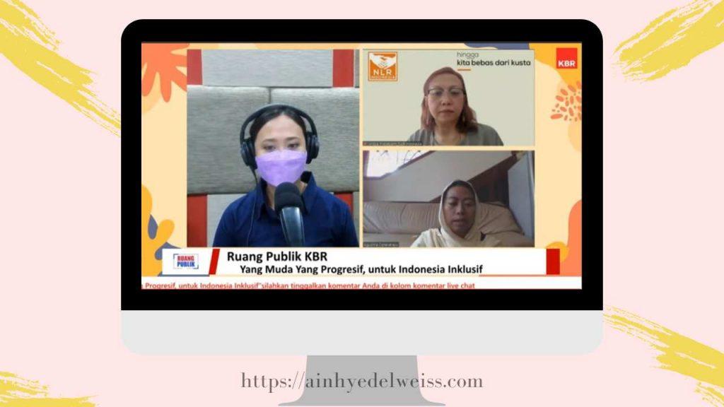 Live Streaming KBR dengan tema wujudkan Indonesia Inklusif