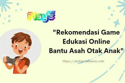 Rekomendasi game edukasi