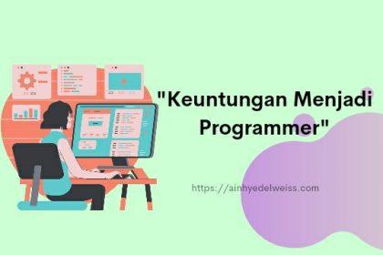 Keuntungan menjadi programmer